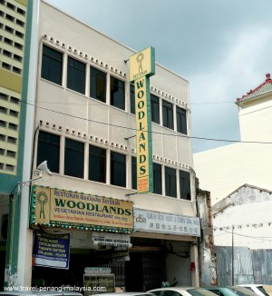 Woodlands Vegetarian Restaurant Penang