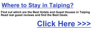 Click to find the best places to stay in Taiping