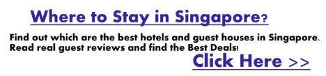 Find the best places to stay in Singapore