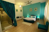 A room at the Chymes Hotel Penang