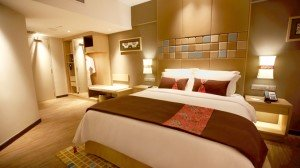 Guest Room at the Doubletree By Hilton Hotel Penang