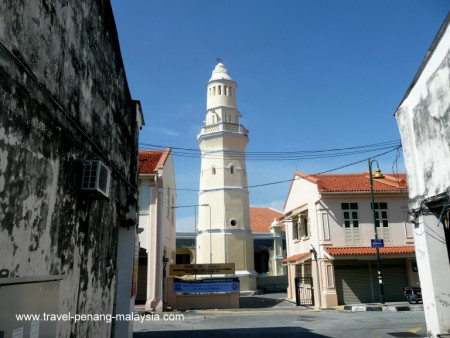 photo of Acheen Street Mosque in Georgetown Penang Malaysia