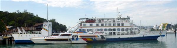 Boats to Langkawi