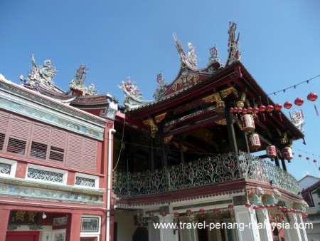 photo of the Cheah Kongsi Temple in Georgetown Penang