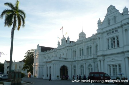 photo of the City Hall Georgetown Penang