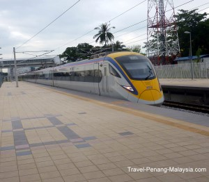 ETS Train in Malaysia