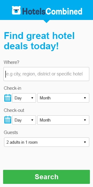 Compare hotel rates at Hotelscombined >