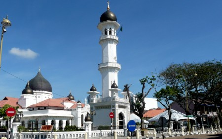 Photo of the Kapitan Keling Mosque in George Town Penang