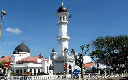 Photo of the Kapitan Keling Mosque in George Town Penang