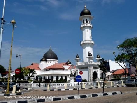photo of Kapitan Keling Mosque in Georgetown Penang Malaysia