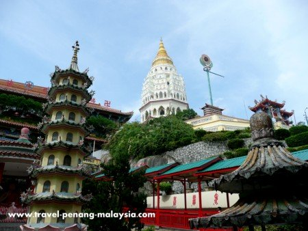 photo of Kek Lok Si temple in Penang Malaysia