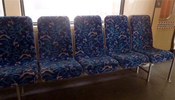 KTM Komuter seats