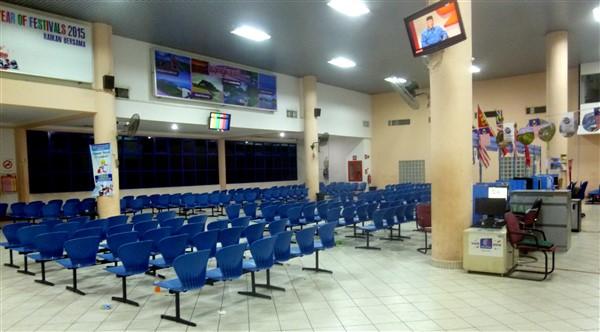 Kuala Kedah Jetty departure area