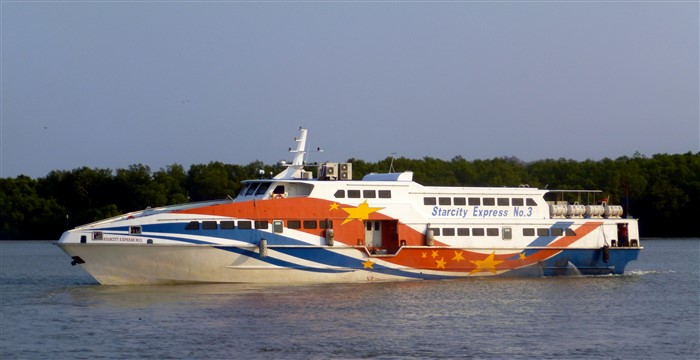 Langkawi high-speed ferry boat