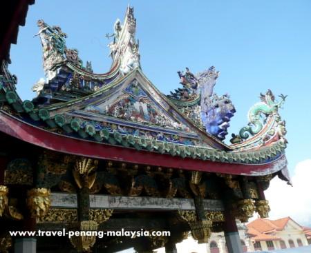 photo of Khoo Kongsi in Georgetown Penang