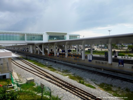 The new Butterworth Train Station