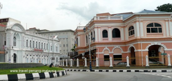 Beach Street in George Town Penang