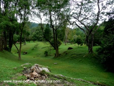 photo of a the Penang Botanic Gardens