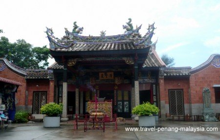photo of the Snake Temple in Penang