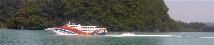 Travel from Penang to Langkawi by ferry