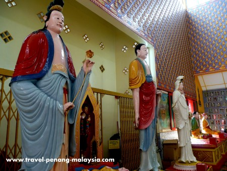 Photo from inside the Thai Temple in Penang
