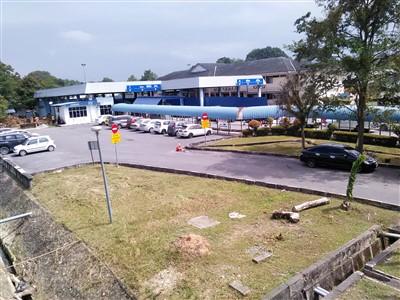 view of the Padang Besar Malaysia border