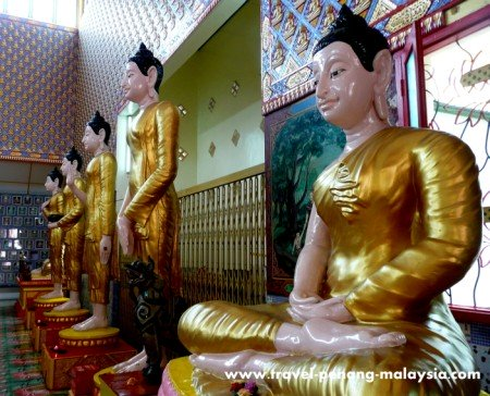 Wat Chayamangkalaram Buddhas