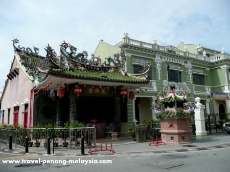Yap Kongsi Temple Georgetown Penang